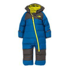 northface one piece snow suit