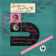 Alex Steinweiss - Cover for Beethoven's Symphony No. 5