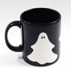 Waechtersbach Spain Halloween Ghost Coffee Mug Black Ceramic  #Waechtersbach #Mug