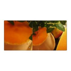 Butternut and Mint Cookbook Binder A binder for you to personalize & fill with recipies.