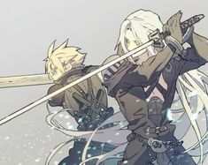 Greatest warriors of the Final fantasy series