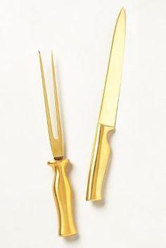 Anthropologie Aureux Carving Knife