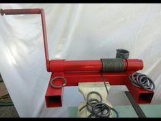 Cómo hacer la mejor máquina para aros y figuras - YouTube Metal Bending Tools, Metal Working Tools, Metal Tools, Metal Projects, Welding Projects, Metal Crafts, Welding Tools, Metal Welding, Homemade Tools