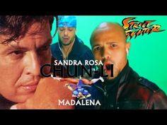 Sátira da música Sandra Rosa Madalena com a Chun-li do Street Fighter