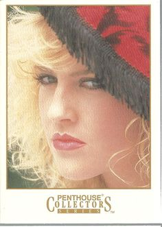 Lisa Renee Bradford #119 Pent House Collectibles Trading Card 1992 TriFold
