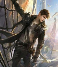 Fantasy, art, and pirate image Fantasy Character Design, Character Concept, Character Art, Concept Art, Fantasy Artwork, Dnd Characters, Fantasy Characters, Fantasy Inspiration, Character Inspiration