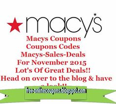 Macy's Coupons Ends of Coupon Promo Codes JUNE 2020 ! Looking for Macy's coupon and promotional code? Goodshop's coupon specialists re. Store Coupons, Grocery Coupons, Online Coupons, Print Coupons, Discount Coupons, Mcdonalds Coupons, Free Printable Coupons, Free Printables