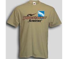 T-Shirt Jagdgeschwader 7 Nowotny / mehr Infos auf: www.Guntia-Militaria-Shop.de