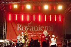 Apertura della stagione del Natale nel Villaggio di Babbo Natale a Rovaniemi, Finlandia