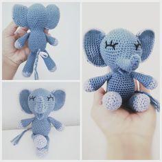 Crochet Animals, Crochet Toys, Crochet Baby, Free Crochet, Knit Crochet, Baby Knitting Patterns, Crochet Patterns, Crochet Ornaments, So Creative