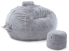 Think we're gonna need a nap in this after our Superbowl Food Coma...Limited Edition Moonrock Cut Phur Supersac Package | #Lovesac #foodcoma #Superbowl #snacks
