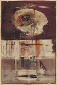 "(Mark Rothko. Untitled. (1945-46)    (1945-46). Watercolor and ink on paper, 40 1/8 x 26 1/4"" (102 x 66.6 cm"
