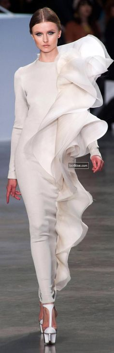 You would look nicer just draped in a bedsheet. What are these designers thinking? Stephane Rolland