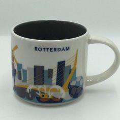 Starbucks Rotterdam YAH Mug Netherlands Soccer Coffee Cup You Are Here New #Starbucks