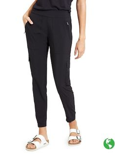 chelsea cargo pant in black, athleta.