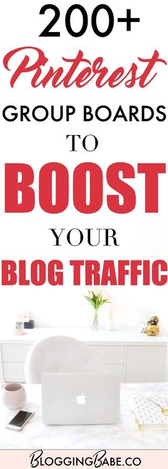 Check out this MASSIVE list of 200+ Pinterest Group Boards to boost your blog traffic! All of them have minimum 1,000+ followers and are currently accepting new contributors. Pinterest Group boards are the best way to grow your blog traffic fast; so start joining them today!