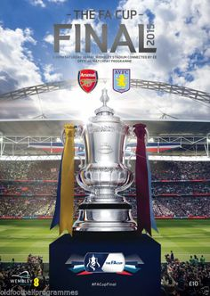 f a final programmes Arsenal Football, Arsenal Fc, Arsenal Official, Fa Cup 2015, Ny Red Bulls, Arsenal Premier League, Match Of The Day, Fa Cup Final, Football Design