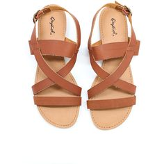 Lisson Sandal ($29) ❤ liked on Polyvore featuring shoes, sandals, gladiator shoes, gladiator sandals, boho chic shoes, bohemian shoes and bohemian style shoes
