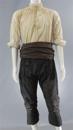 BLACK SAILS CAPTAIN FLINT TOBY STEPHENS SCREEN WORN PIRATE COSTUME EP 101