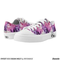 Purchase a wonderful pair of Purple sneakers & athletic shoes from Zazzle. Interchangeable covers allow you to have different shoes everyday of the week! Custom Sneakers, Custom Shoes, Purple Hibiscus, Purple Sneakers, Shoe Image, Shoe Pattern, Unique Shoes, Young Fashion, Kids Sneakers