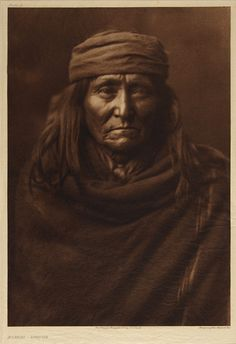 Eskadi - Apache, 1903  Edward Sherrif Curtis   1907, 20th century  Notman photographic Archives - McCord Museum