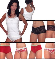 Jalie 2568: Camisole and Panties Sewing Pattern for Women and Girls