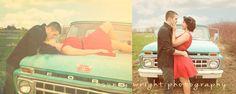 our vintage engagement pics.