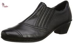 Rieker 41700, Escarpins Femme, Noir (00), 40 EU - Chaussures rieker (*Partner-Link)