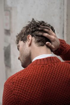 Jamie Dornan - Christian Grey running his hand thru his hair. It is just one hand, so he is not that mad.