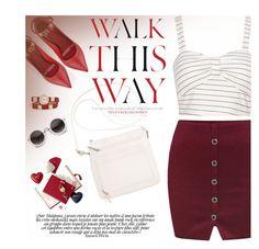 """WALK THIS WAY"" by m-zineta ❤ liked on Polyvore featuring Valentino, Giani Bernini and Anja"
