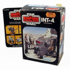 """The INT-4 Interceptor, a """"mini-rig"""" from the """"Star Wars: The Empire Strikes Back"""" line of toys"""