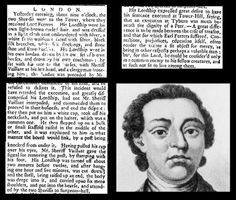5th May 1760 - Lord Ferrers hanged at Tyburn