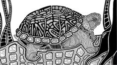 Turtle by LindseyRossInk @ deviantART