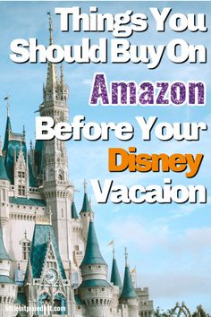 Things You Should Buy Before Your Disney World Trip!