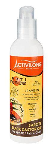 Activilong Actiforce Leave In Soin sans Rinçage Carapate Sapote 240 ml #Activilong #Actiforce #Leave #Soin #sans #Rinçage #Carapate #Sapote