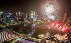 Singapore New Year's Eve 2015