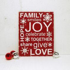 Christmas sign. #christmas #decor
