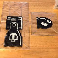 Bullet Bill Mario perler beads by mr_jamesromo