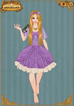 SEE ARIANNA IS Rapunzel!!!  EPBOT: Steampunk Disney Princesses