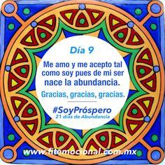 #SoyPróspero, Hábitos, Reto, 21 Días, Mandala, hindú, emociones, fitness emocional