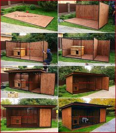 Diy dog kennel - However in spite of these, you should still have some fundamental tools in order to appropriately take care of your pet and ensure their wellbeing Dogaccessories Dog Kennel Designs, Diy Dog Kennel, Dog Kennels, Kennel Ideas, Dog House Plans, Pallet Dog House, Dog Yard, Positive Dog Training, Cool Dog Houses