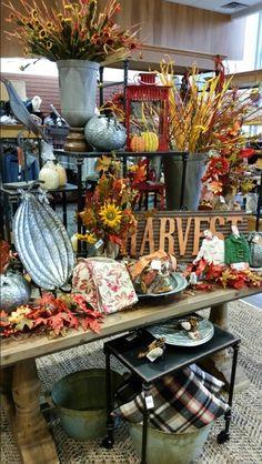 Autumn Display - Janesville Autumn Displays, Farm Shop, Halloween Displays, Store Displays, Visual Merchandising, Table Decorations, Create, Gallery, Fall