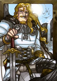"""Baldur"" copyright Norhalla, Inc. illustrated by Nicolas Giacondino for the Legends series Norse young adult books."