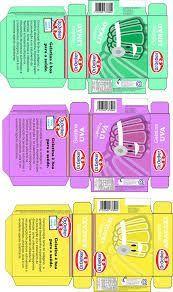 embalagens abertas de caixa de sabão em pó para miniaturas - Pesquisa Google