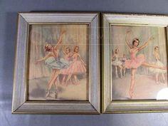 shopgoodwill.com: Vtg Andre Chevalier Ballerina Framed Prints