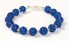 Busy Beaders Hand Made Jewellery - Ireland Bespoke Jewellery, Crystal Bracelets, Swarovski Crystals, Crochet Necklace, Jewelry Making, Handmade, Crafts, Blue, Hand Made