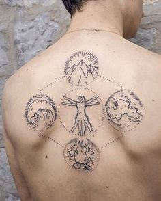 better picture !! elements of day + vitruvian man thank u Quentin!  By Ness Cerciello