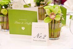 Tischnummern. Tischdekoration. #Hochzeit