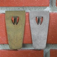 picture hangers for bricks | ... brick walls or an indoor brick fireplace, these brick hooks can hold