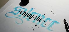 Calligraphy Projects & Sketches on Behance